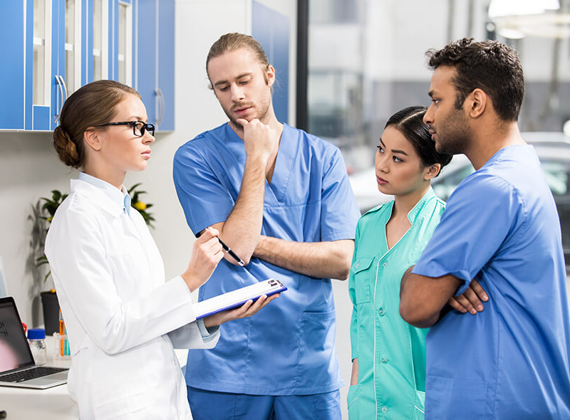 L'infirmer, la personne incontournable de l'EMSP