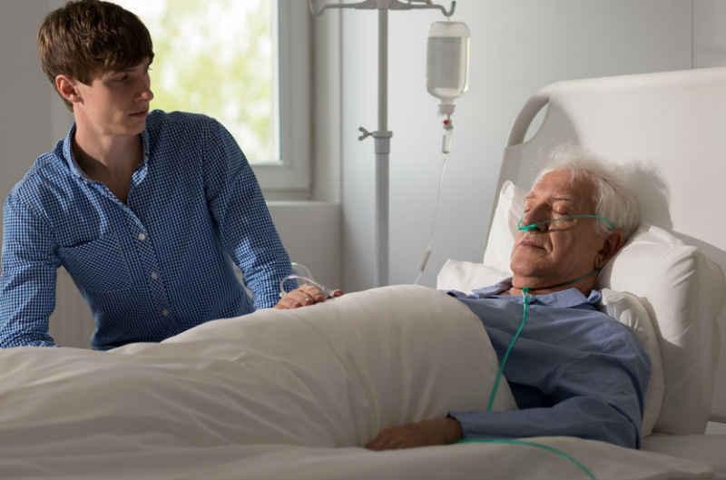 Respirer paisiblement lors d'un traitement palliatif