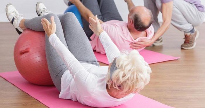 Activité physique et 3ème âge